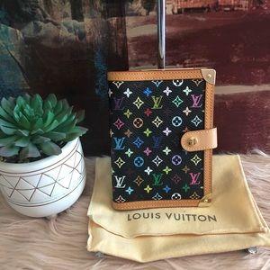 Authentic Louis Vuitton Agenda Pm Multi color